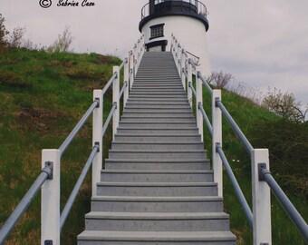 Owl's Head Lighthouse Photograph