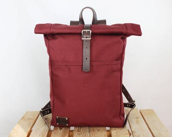 Canvas backpack/ Canvas rucksack/ Waterproof backpack/ Laptop backpack/ Travel backpack/ School backpack/ Phestyn