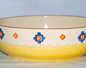 Santa Fe Made In Portugal Southwest motif Chip Bowl