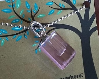Pink Essential Oil Necklace on Chain for Men & Women