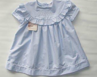 Toddler Dress, Little Girl Monogrammed Dresses, Monogram Summer Dress, Toddler Monogram Dress, Birthday Moogram Dress  FREE Personalization