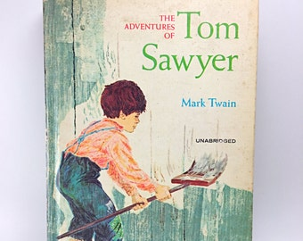 The Adventures of Tom Sawyer Whitman Classics Library, Vintage Classic Literature
