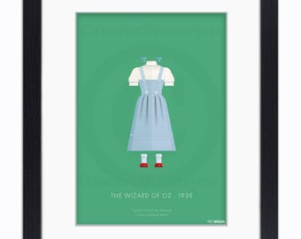 The Wizard Of Oz - 1939 - Dorothy - Mounted & Framed Art Print