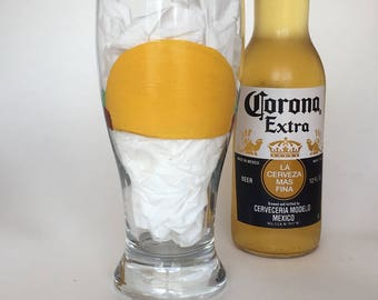 Taco beer glass//Taco lovers gift