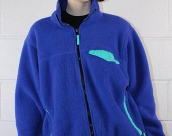 LL Bean Vintage 1990s Fleece, size L