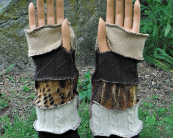 Cashmere Arm Warmers, Fingerless Gloves, Texting Gloves, Driving Gloves, Hand Warmers, Mittens, Recycled Sweaters, Winter Accessories, Eco