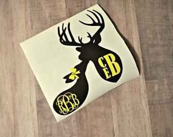 Deer Love Decal
