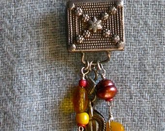 Old Moroccan Silver Amulet