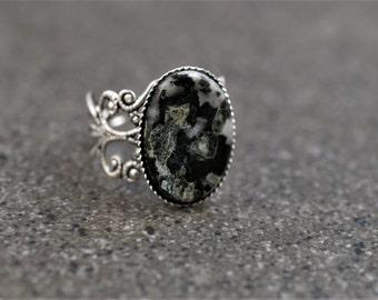 Dallasite Jasper Ring