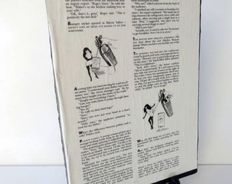 Drywall Art Vintage Playboy's Party Jokes November 1995