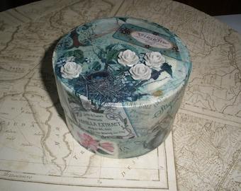 decoupage keepsake box