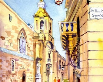 Malta, Villaignon St, M'dina