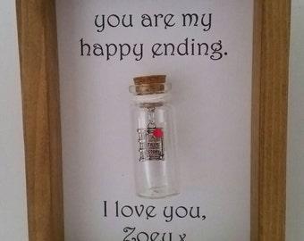 Valentine's day gift, unique boyfriend gift, Boyfriend, Boyfriend gift, Gift for boyfriends. Add your names.