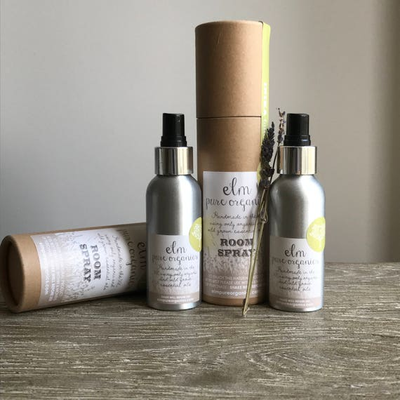 Bespoke Service. Create your own Organic Room Spray Home Fragrance or Natural Reed Diffuser with Organic Essential Oils.