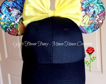 Beauty and The Beast Ears | Ears Baseball Cap | Tale As Old As Time Hat