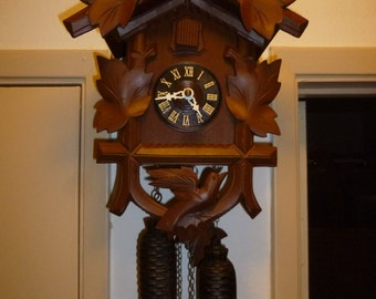 Authentic Cuckoo Clock (Made in Germany) 8-Day
