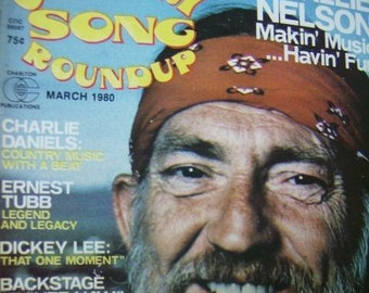 Willie Nelson Country Song Roundup March 1980