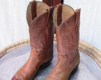 Size 6AA Tony Lama Western Boots