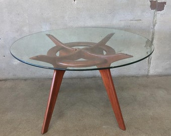 Mid Century Compass Dining Table by Adrian Pearsall (9WY8E7)