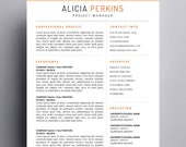 Resume Template for Mac | Apple Pages & Word for Mac Ready  |
