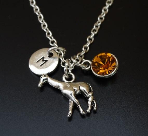 Giraffe Charm Bracelet: Giraffe Necklace Giraffe Charm Giraffe Pendant Giraffe