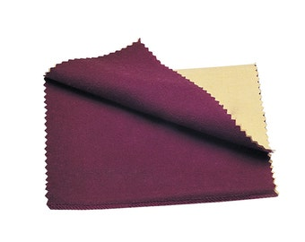 "6"" x 8"" Rouge Cloth Flannel Cotton Jewelry Polishing Making Cleaning Metal Finishing Tool - POL-168.00"