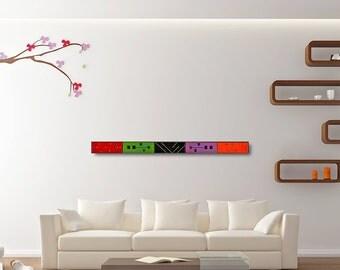 Long Wall Art long narrow wall art   etsy