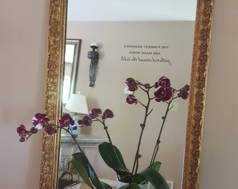 Vintage Gold Mirror, Carolina Mirror, Gold French Mirror, Ornate Mirror, Home Decor, Wall Decor, Mirrors,Framed Mirror,Wedding,Copper Plated