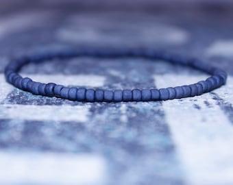 Bead Bracelet Men - Men's Gift - Seed Beaded Bracelets, Mens gift for him Husband Gift , Saint Valentine Gift Men, San Valentin Gift Men