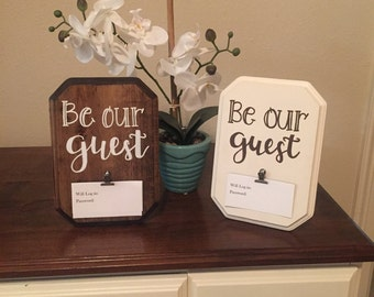 Wifi password sign, guest room decor,be our guest, wireless password, welcome, wifi sign, but first wifi, wood sign, guest room sign, wifi