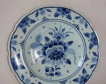 Dutch Blue wall plate