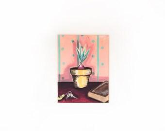 Plant in Flower Pot