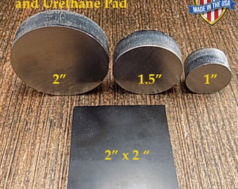 Coin Ring Tools: Urethane Pad and Reduction Press Plate Combo Set