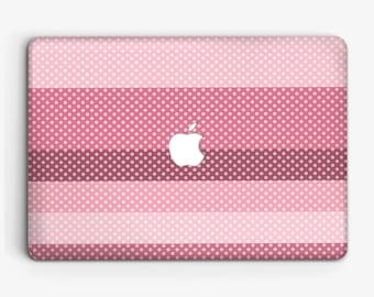 Polka Dots Macbook Сase for Laptop Macbook Pro 13 Case Macbook pro 15 Case for Macbook air 11 Macbook Pro Retina 13 Pink Laptop Case m006