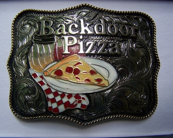 Custom Trophy Buckle