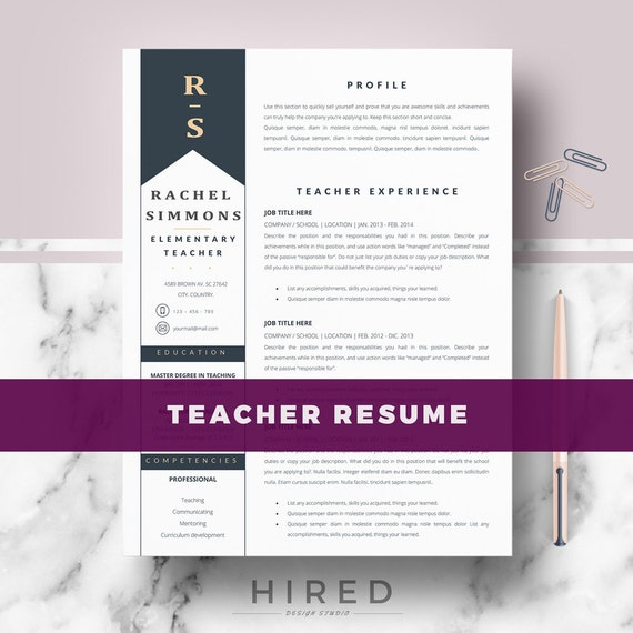 resume template for ms word cv resume