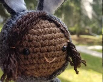 Little Girl Bunny Doll