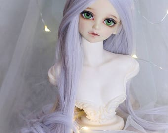 1/3bjd sd wigs , Blonde Long Curly hair T301