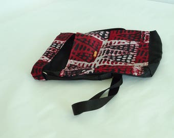 Senegal red shoulder bag