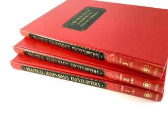 Practical Handyman's Encyclopedia Set of 3 Books