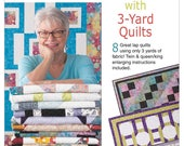 Modern Views with 3 Yards  book. 8 great quilt patterns for Queen King Twin lap sizes