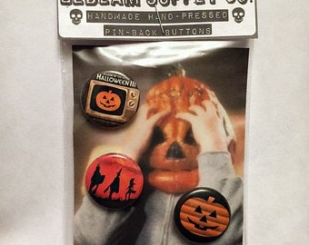 "Halloween 3 Season of the Witch - 1"" Button Set"