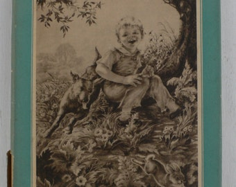 vintage children's book, A Tree For Peter, 1941, illustrated,  from Diz Has Neat Stuff