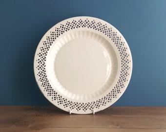 Antique Creamware Plate c1780