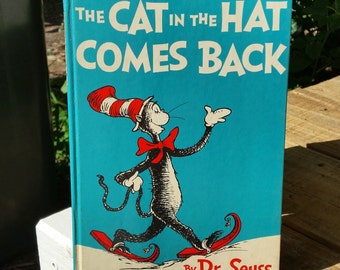 The Cat In The hat Comes Back - UK First Edition - 1961 - Dr. Seuss - Hardcover