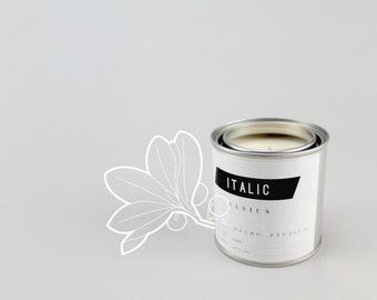 04 // Wintergreen - Half Pint (8oz) Scented Soy Candle in Paint Can
