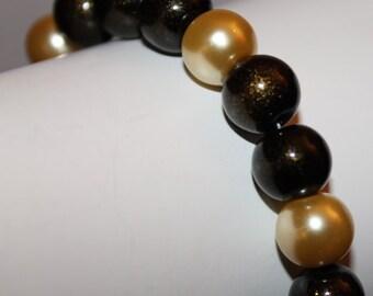 Gold Pearl Jewelry, Jewelry Gold, Gold, Bracelet Pearl Gold, Beaded Bracelet Gold, Jewelry Bead Gold, Beaded Jewelry Gold, Gold Pearl, Gold
