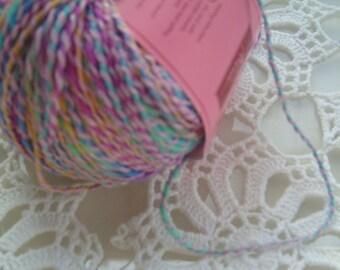 Pastel yarn/shabby chic fiber/Noema yarn/Louisa Harding yarn/yarn destash/dreamcatcher fiber/131 yds./craft yarn/crochet/ weaving/knitting