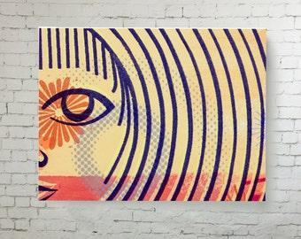 Superb Home Decor Wall Art, Print On Canvas Modern Art, Silkscreen Reproduction  High Quality Print Part 32