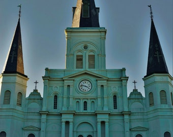 New Orleans Pictures, New Orleans Photos, New Orleans Art, St.Louis Cathedral,Jackson Square,New Orleans Decor,